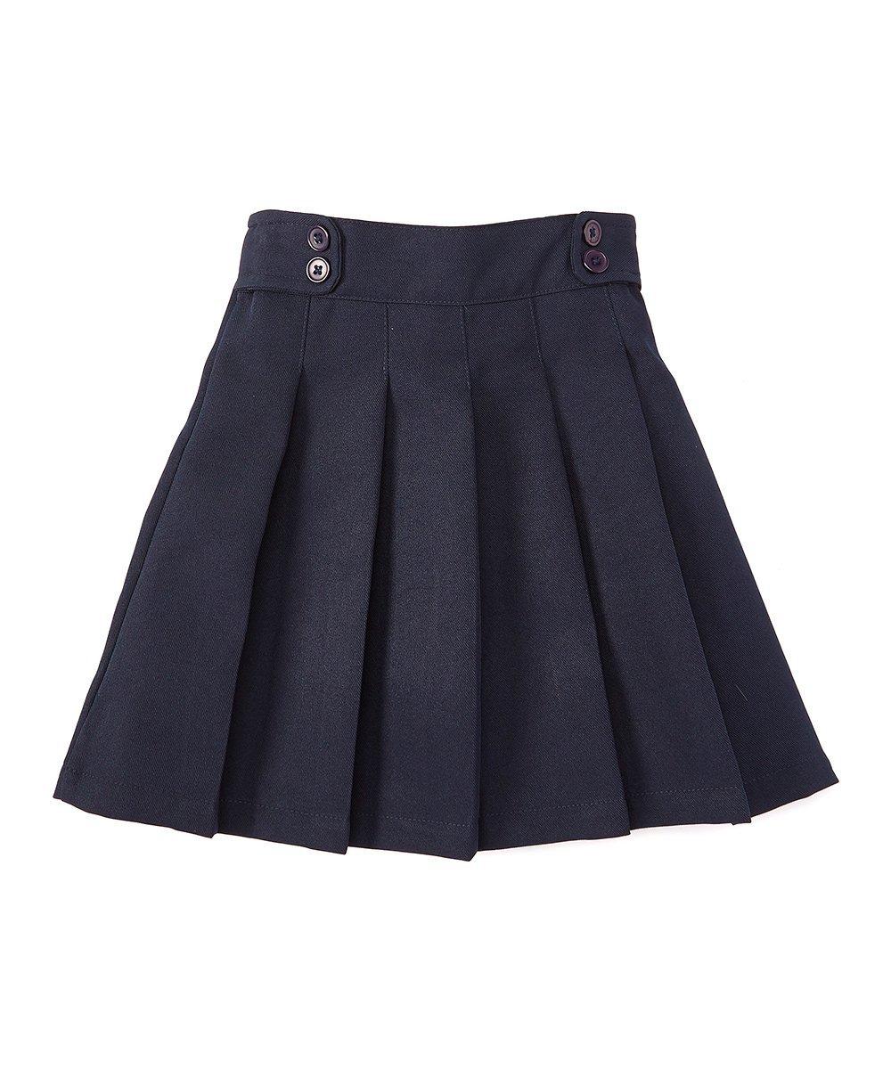 unik Girl Pleated Uniform Scooter Navy Size 10