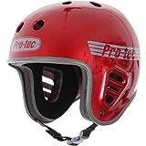 Pro Tec Full Cut Skate Helmet - Red Metal Flake