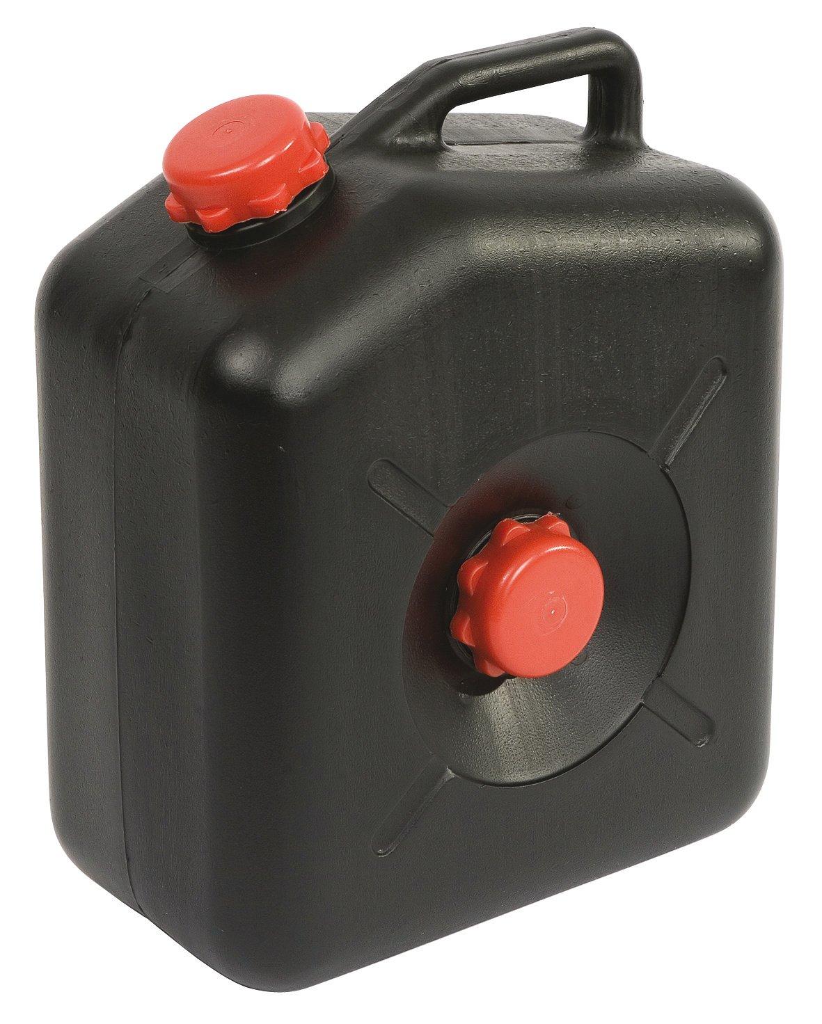 No Label Garrafa/depósito de Agua, Color Negro, 23l WW23L