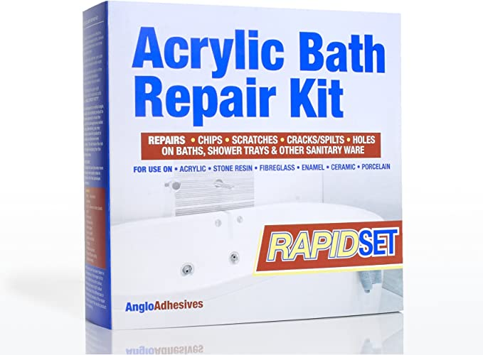 Kit de reparación acrílico para bañeras - Rápida aplicación ...