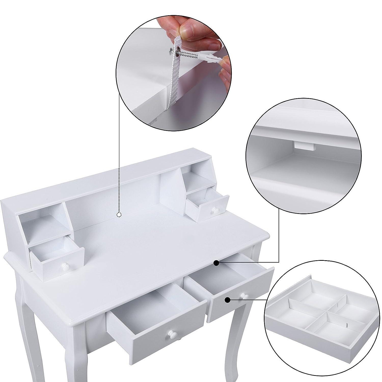 Consolle moderna porta pc in camera da letto - Toeletta moderna da camera ...