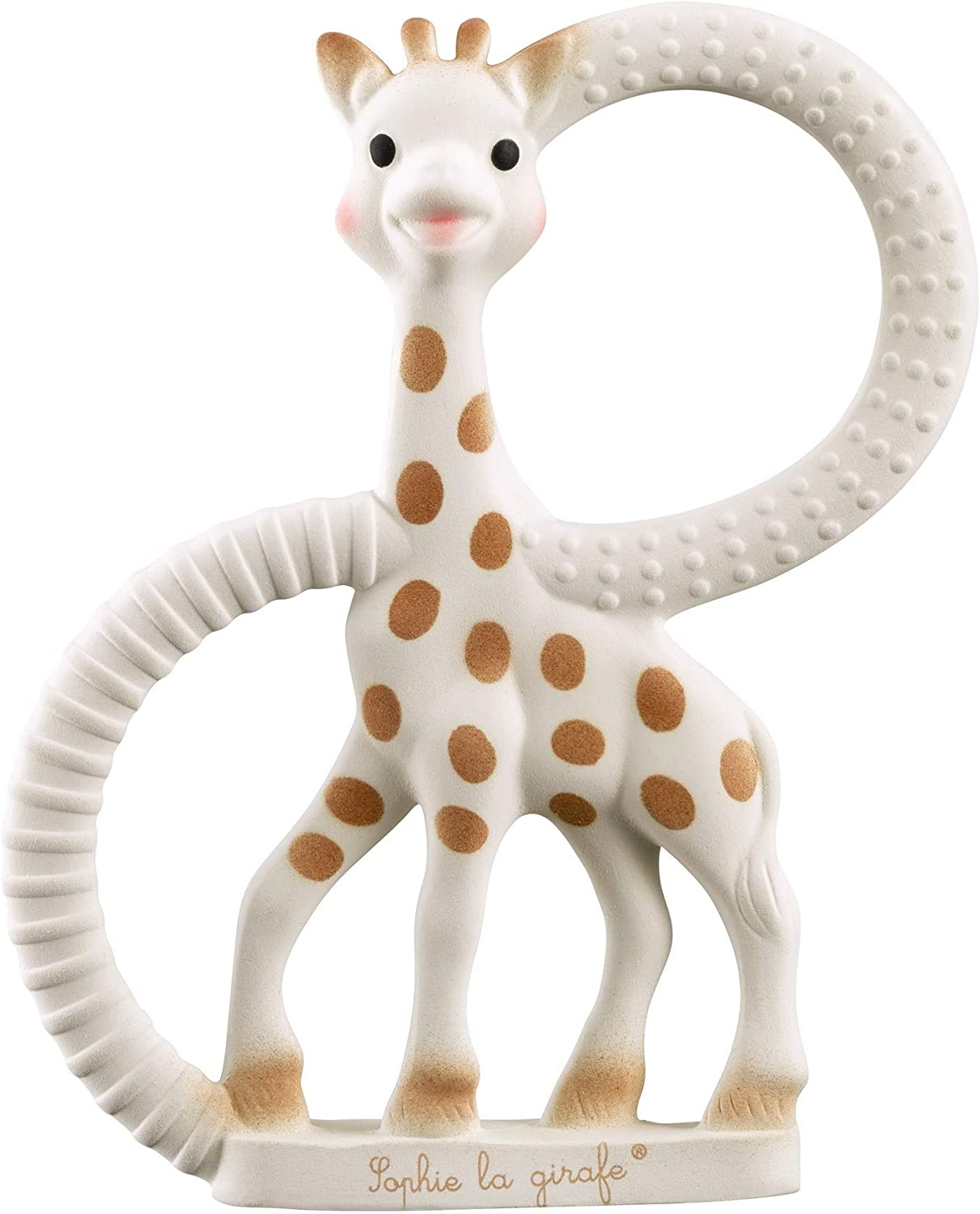 Sophie The Giraffe So Pure Teether Teething Soft Ring Gift 100/% Natural