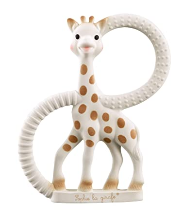 Vulli Sophie La Girafe Gift Teething Ring Infant 100/% Natural Rubber Chew Toy