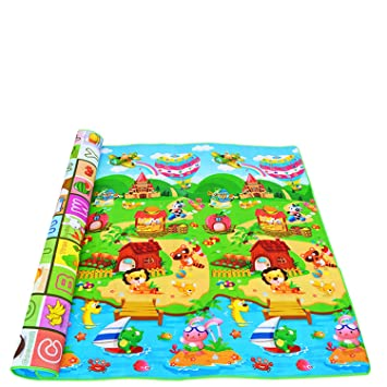 Eva Soft Foam Floor Mats  Gym Kids Exercise Play Mat Dinosaur