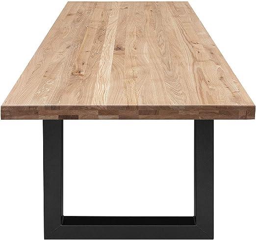 COMIFORT Mesa de Comedor - Mueble para Oficina Robusto de Roble ...