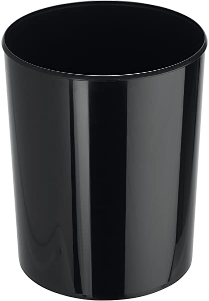 color gris claro poliestireno, 2 L Papelera con solapa de inserci/ón Han 1816-11