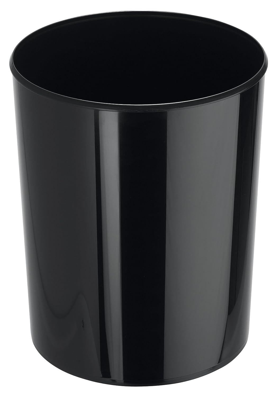 Han - Cestino per la carta linea Elegance, 219/240 x 300 mm, capacità : 13 l Nero lucido capacità: 13 l Nero lucido 18130-13