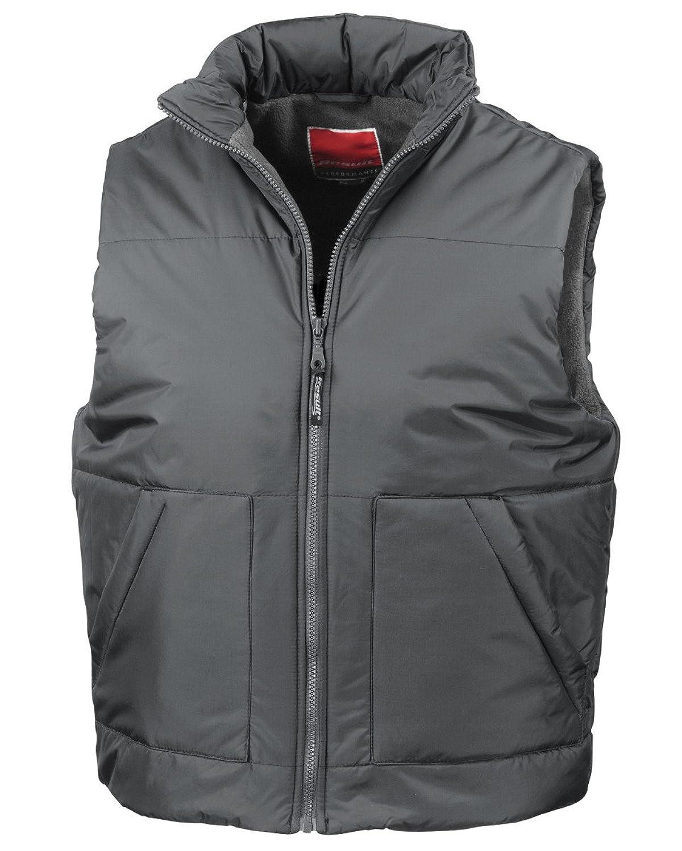 Result Fleece Lined Bodywarmer Navy Blue 2xl