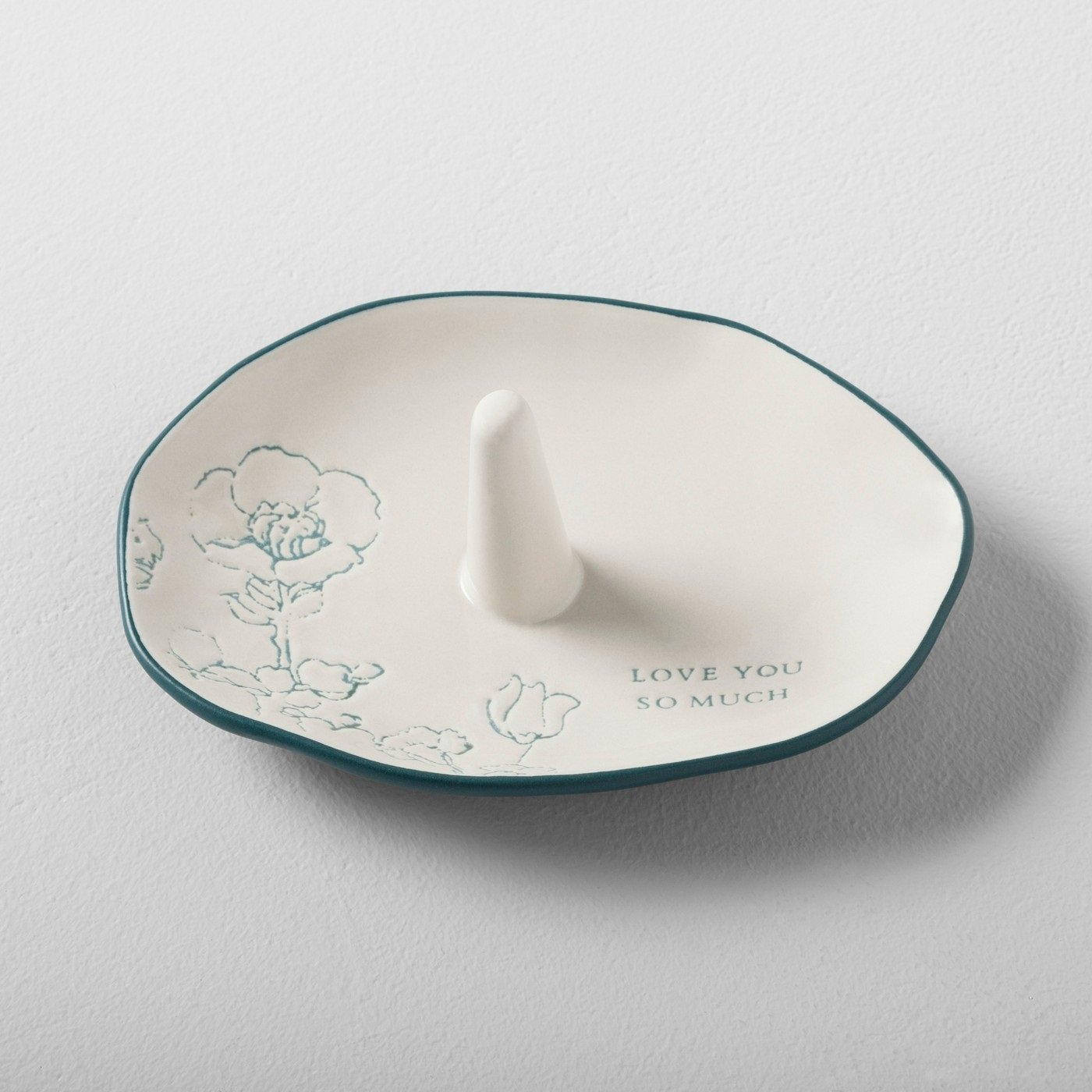 Hearth and Hand Magnolia Ring Tray Stoneware Cream Love Mother Day Collection by Hearth & Hand Magnolia (Image #3)