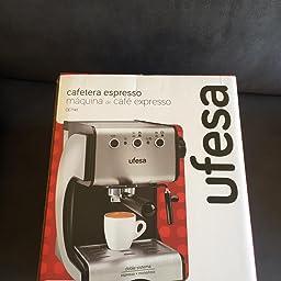 Amazon.es:Opiniones de clientes: Ufesa Cafetera expreso Duetto ...