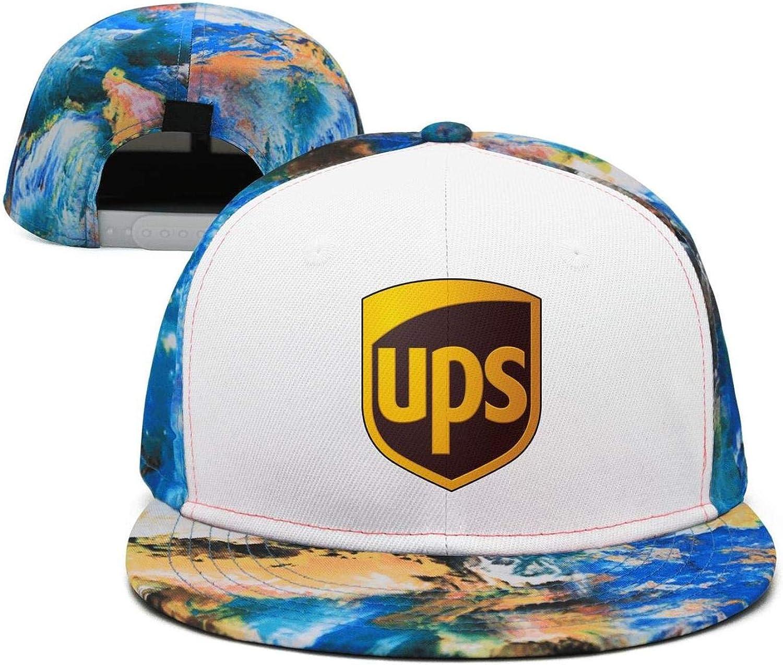 Flat Bill Trucker Hats for Men Women Baseball Caps Cool Hat SDHAK FedEx-Federal-Express-Symbol-Logo