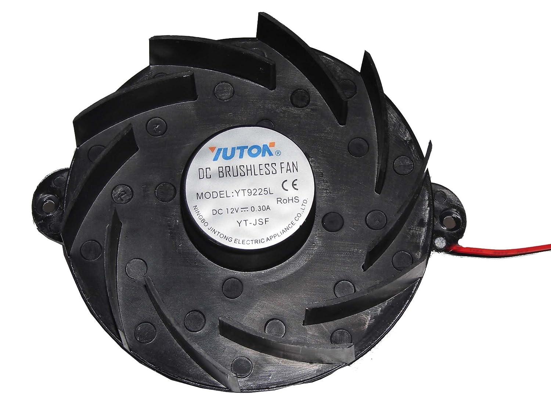 yuton yt9225l 12 V 0,3 A 2 Cable Ventilador de horno de microondas ...