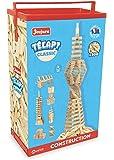 Jeujura 8332 Tecap Classic - Juego de construcción (Madera, 300 Piezas)