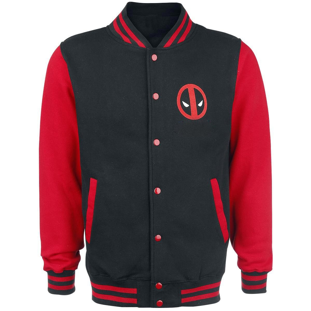 Deadpool Varsity Jacket Superhero Merchandise for Him | M
