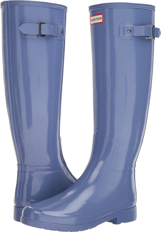 Adder bluee Hunter Womens Original Refined Tall Outdoor Rain Boots