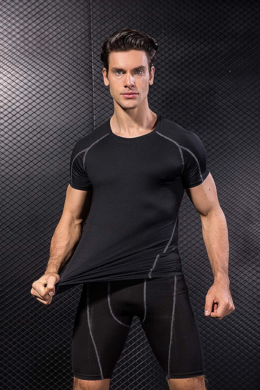 Camisetas Sin Mangas Paquete de 3 Chalecos Camisetas para Hombre ZENGVEE para Camisetas de Compresi/ón Hombres de Secado R/ápido