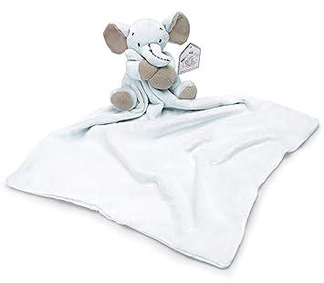 Doudou grande en juguetes blandos peluche color azul con elefante de peluche para bebés: Amazon.es: Juguetes y juegos