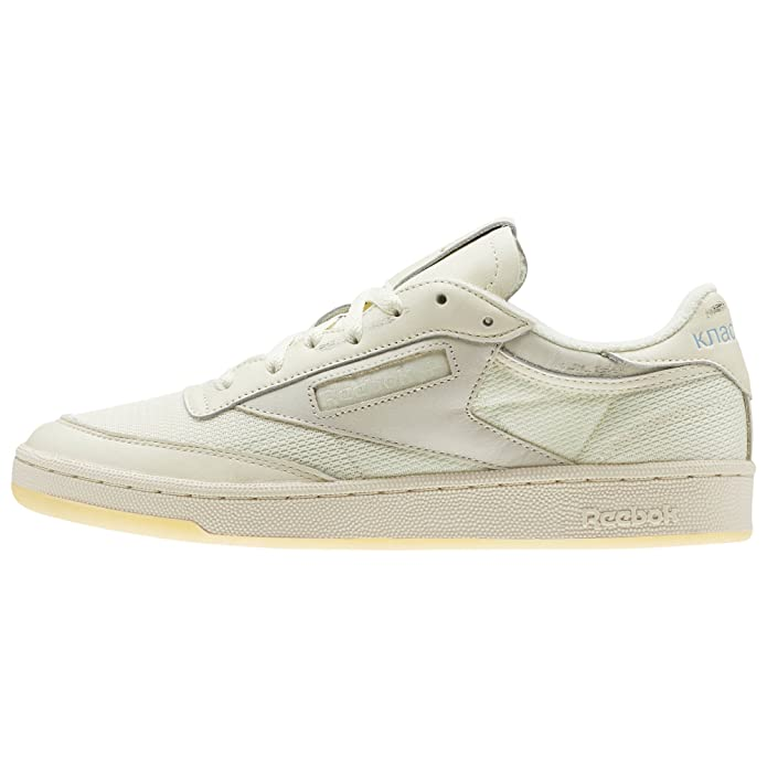 be90fc672fb Reebok Club C 85 x Walk of Shame (Olympic Creme Yellow Fila) Men s Shoes  CN6982  Amazon.co.uk  Sports   Outdoors