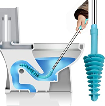 Samshow Toilet Dredge Designed Toilet Plunger for Siphon-Type