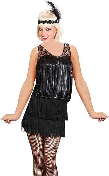 WIDMANN 76721 Adultos Disfraz charlestón para Lady, 36: Amazon.es ...
