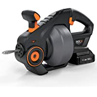 Tacklife 20V Automatic Cordless 25ft Drain Auger with 2.0Ah Battery (HGDDC1A)