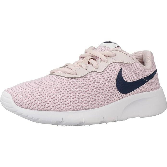 New Boys Nike Tanjun Sneakers Black and White