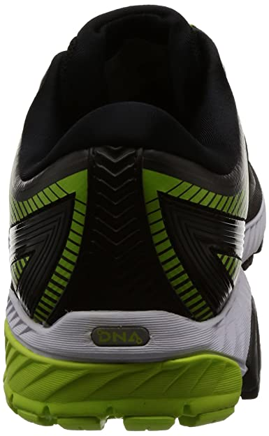 04eb03dc590 Brooks Men s Ghost 10 GTX Black Ebony Lime Popsicle Athletic Shoe  Buy  Online at Low Prices in India - Amazon.in