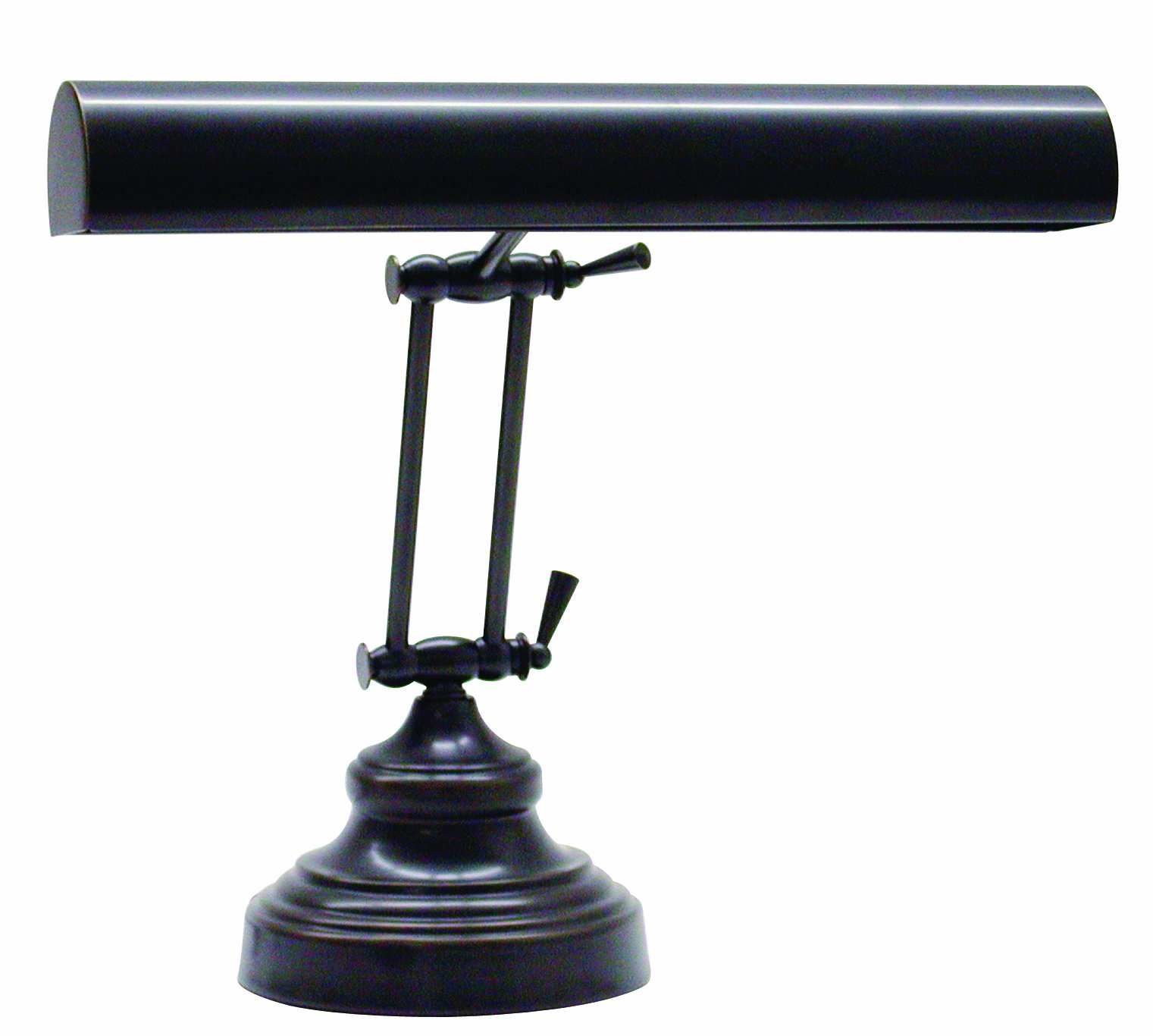 House Of Troy AP14-41-91 Advent Collection 12-Inch Adjustable Piano/Desk Portable Lamp, Oil Rubbed Bronze