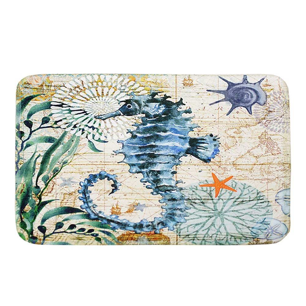 Weiliru Memory Foam Bath Mat Non Slip AbsorbentBathroom Rug Carpet,Mother's Day Theme