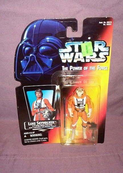 New! Kenner Star Wars Power of the Force 1995 Luke Skywalker with Lightsaber