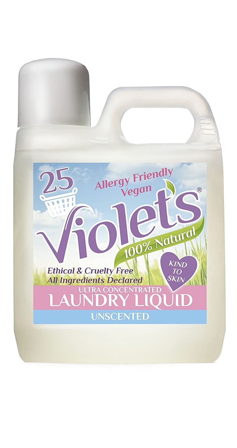 Violet's Natural Laundry Liquid Unscented 1 litre