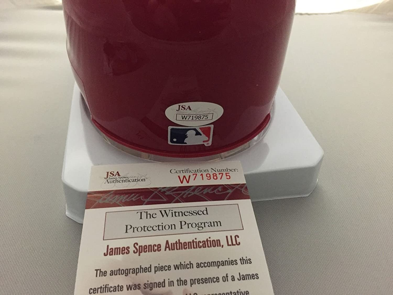 Autographed//Signed Maikel Franco Philadelphia Phillies Baseball Mini Helmet JSA COA /& PHOTO