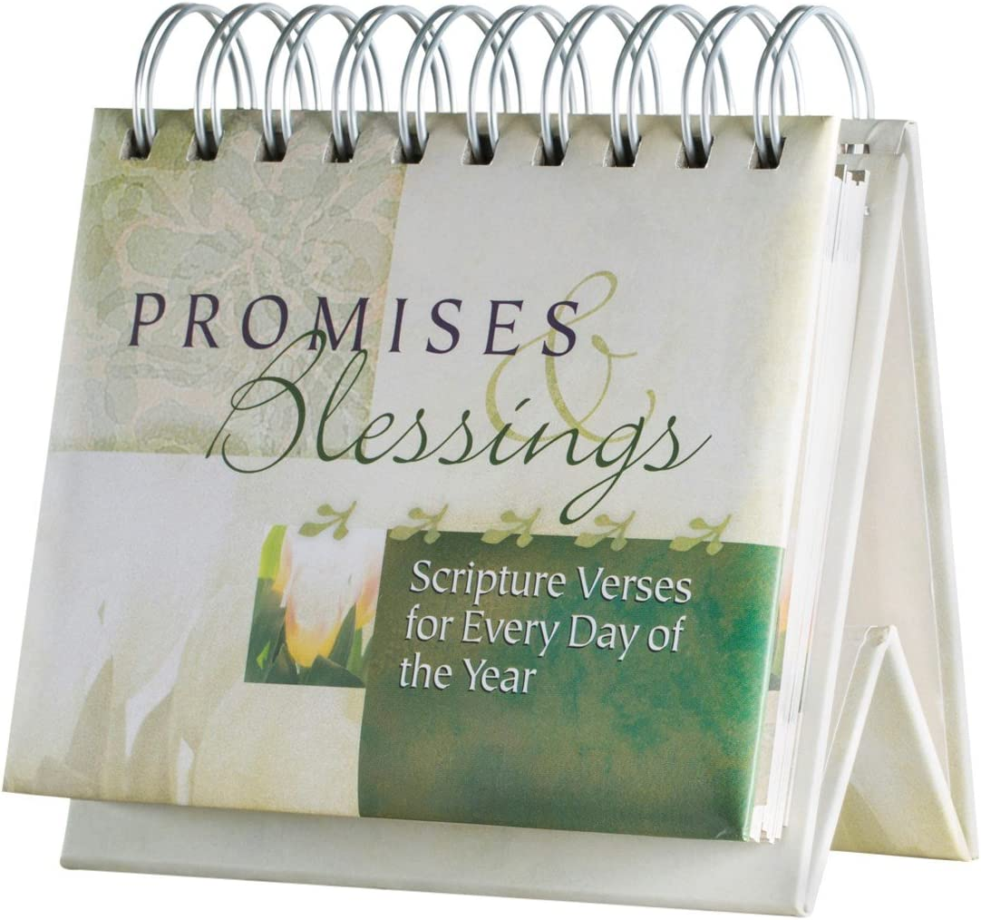 DaySpring Flip Calendar - Promises and Blessings - 16766