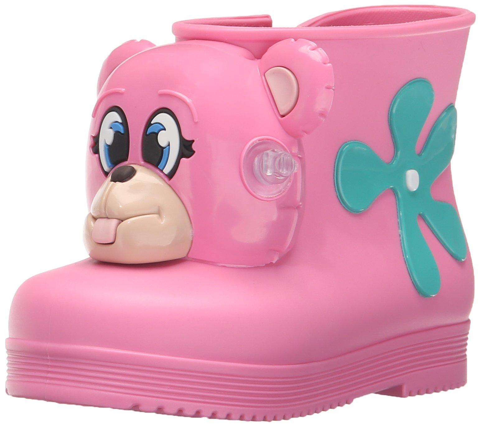 Mini Melissa Monkey Boot + JS Mary Jane (Toddler), Pink Taffy, 5 M US Toddler