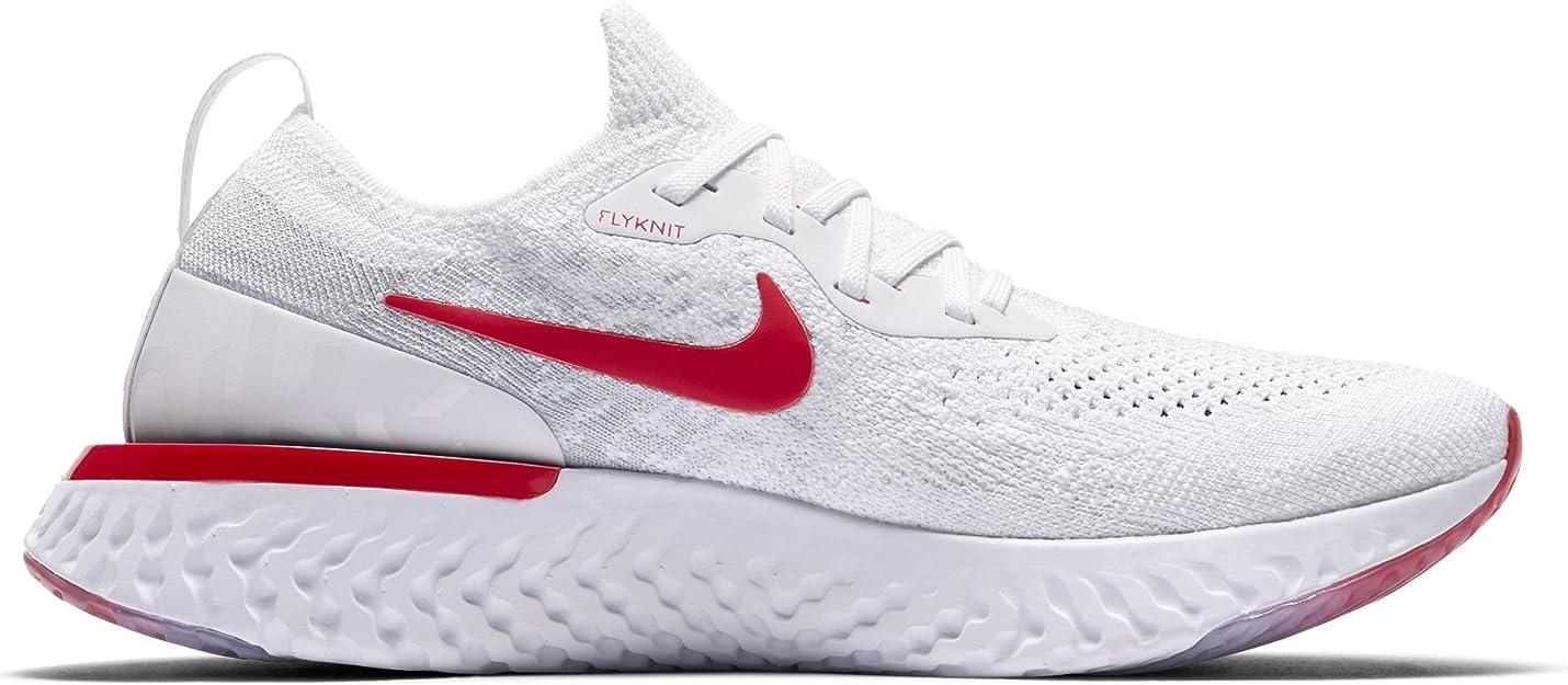 """Nike Epic React Flyknit (GS) """"White"""", Zapatillas Deportivas De Mujer: Amazon.es: Zapatos y complementos"""
