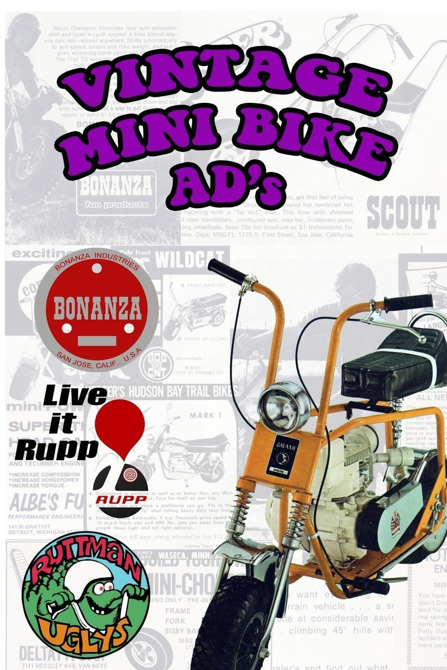 Vintage Mini Bike Ads From The 60's and 70's pdf epub