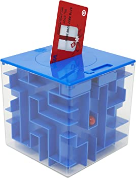 MooToys Money and Gift Card Maze Puzzle Box