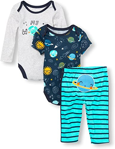 The Childrens Place Baby Boys Pants Set