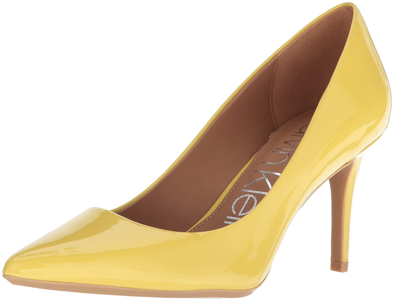 Calvin Klein Women's Gayle Pump B077J4ST9H 9.5 B(M) US Limonata