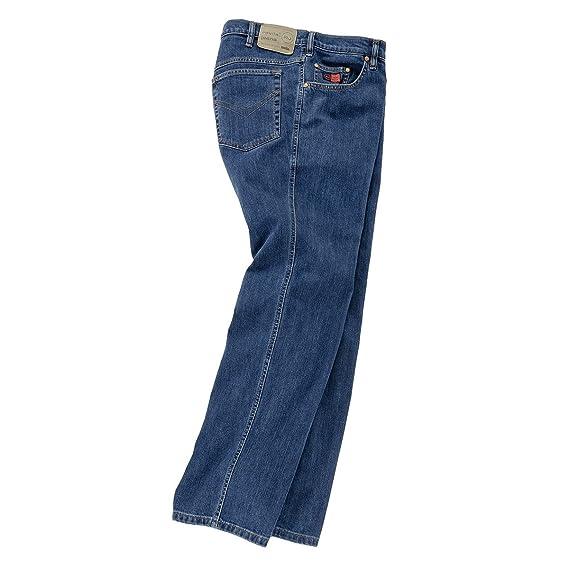 Revils XXL Stretch-Jeans denimblau Stone-Washed, Amerik. Hosengröße in inch  d81160ce3e