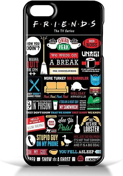 Friends TV Collage Coque pour iPhone 5/5S Noir Coque