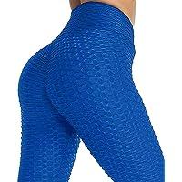 Yutdeng Mallas Push up Mujer Leggins Deportivos Yoga Leggings Mallas Pantalones Deportivos Alta Cintura Elásticos…