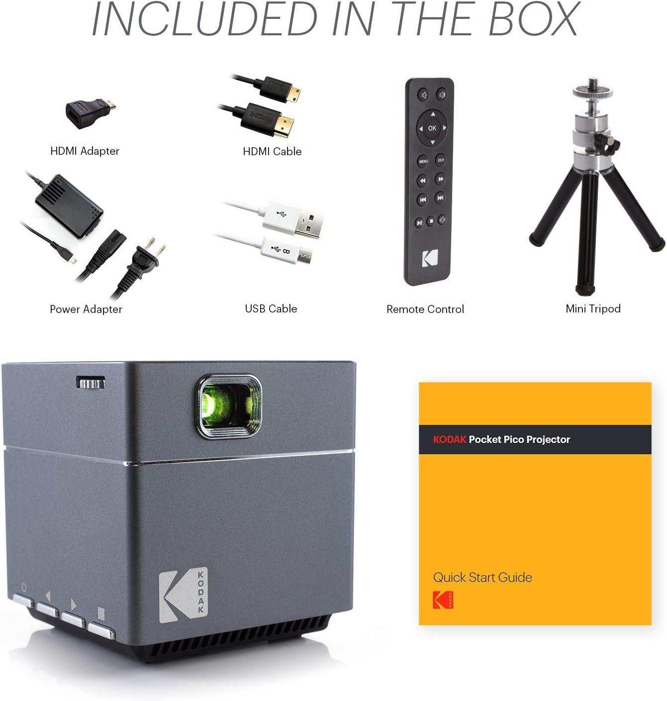 Kodak Pico proyector: Amazon.es: Electrónica