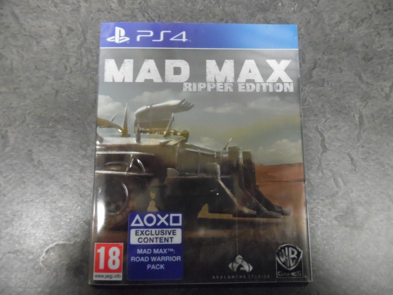 Mad Max Ripper Special Edition Game PS4 [Importación inglesa ...