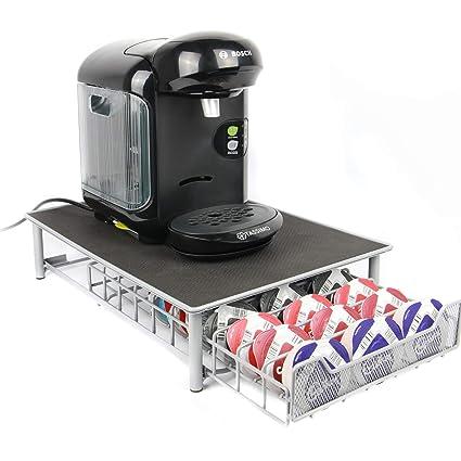 Maison & White Tassimo 60 Pod Holder | Cajón de cápsulas y soporte para máquina de