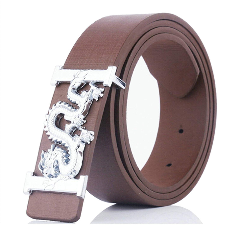 Aooaz Cinturones hombre cinturon de Cuero Aleaci/ón Placa de hebilla Casual Business