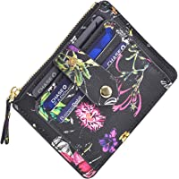 Minimalist Slim Snap Front Back Pocket Money Wallet Small Credit Card Holder