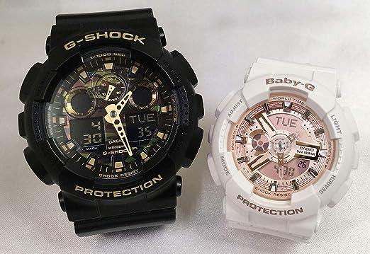 237237a0b9 Amazon | カシオCASIO 腕時計 G-SHOCK&BABY-G ペアウォッチ Gショック ...
