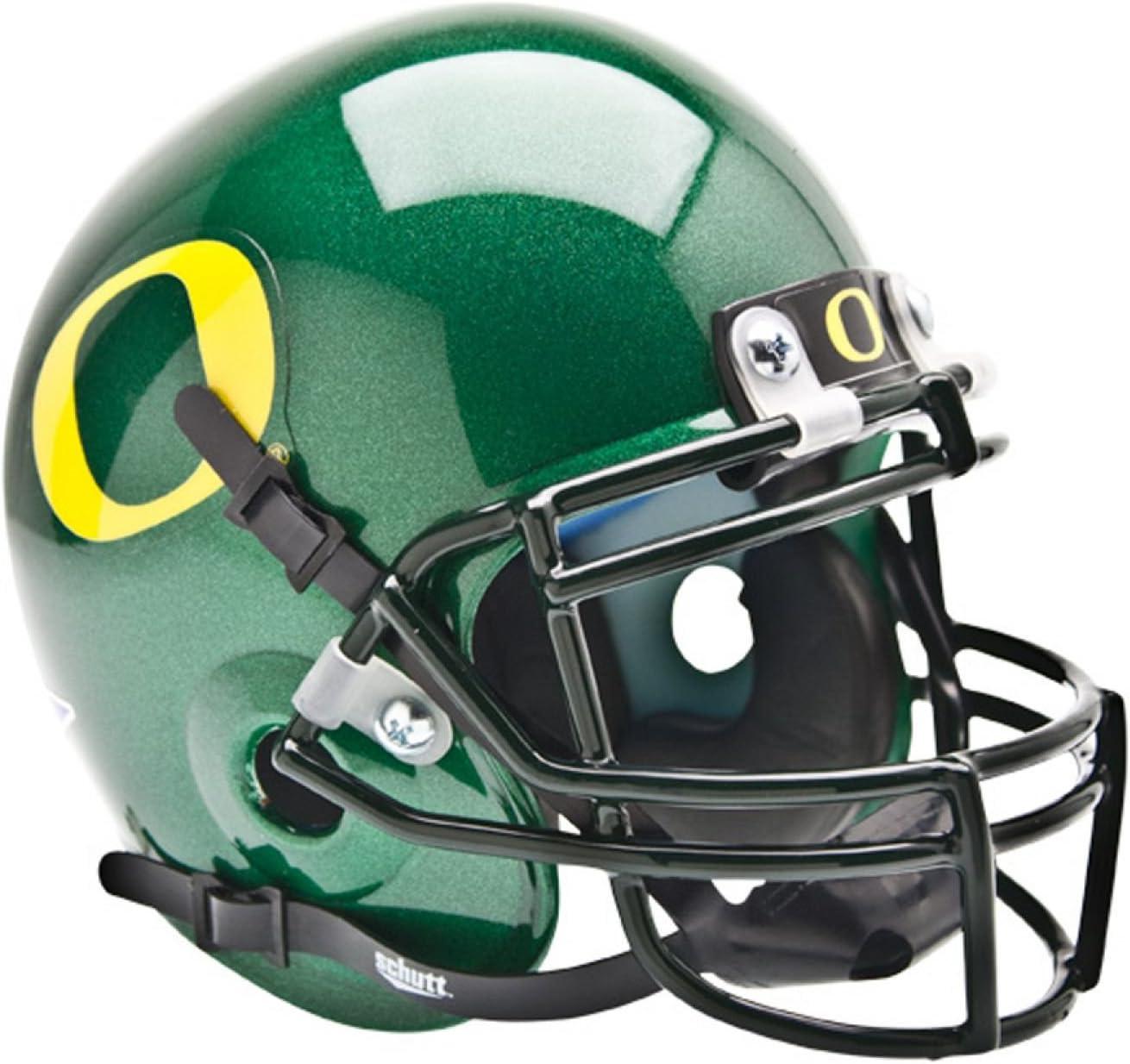 NCAA Oregon Ducks Collectible Alt 1 Mini Helmet White