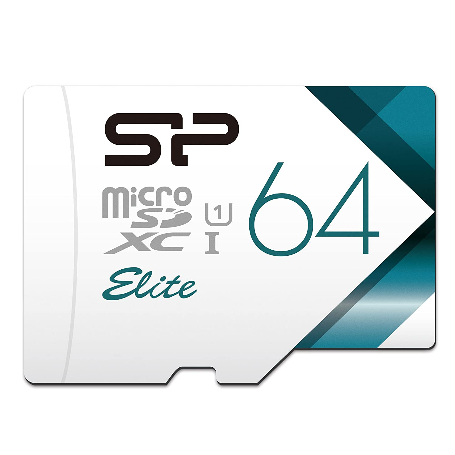 Silicon Power-32GB High Speed MicroSD Card with Adapter SP Silicon Power